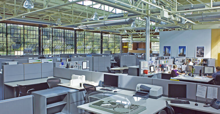Water Wheel Centre Office Space - Open Floor Plan
